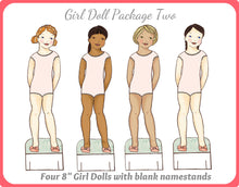 Girls in Sports Paper Doll Bundle