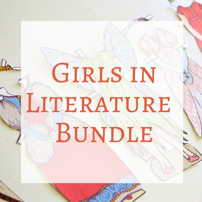 Paper Dolls - Girls in Literature Bundle