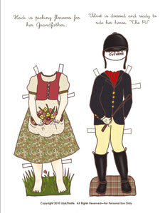 Girls in Literature Paper Doll Bundle