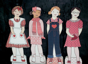 The Valentine Paper Doll Bundle