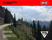 2021 Tour Divide NOBO Town List - METRIC