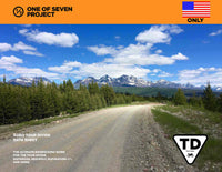 2021 US ONLY TOUR DIVIDE DATA SHEET - BIKEPACKING GUIDES PLANNING AID