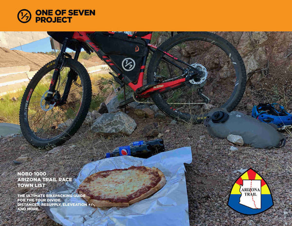 2021 Arizona Trail 1000 - NOBO Town List bikepacking guides planning aids aztr