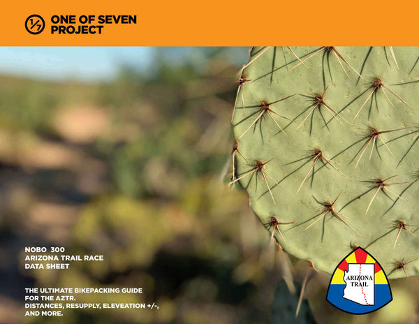 2021 Arizona Trail 300 - NOBO Data bikepacking guides planning aids azt