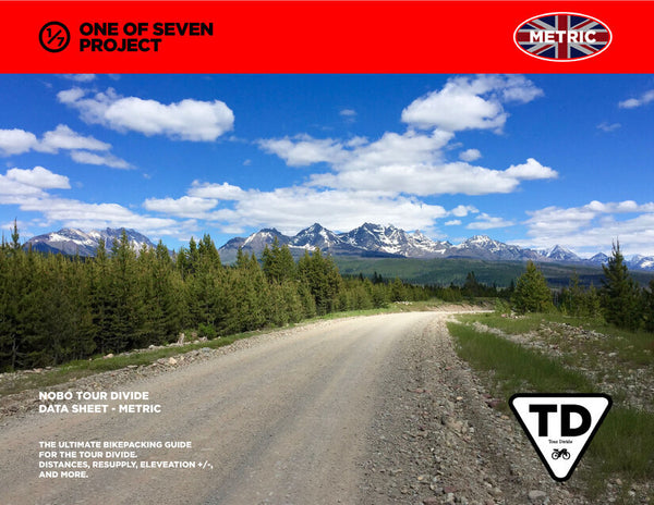 2021 Tour Divide SOBO Data Sheet - METRIC