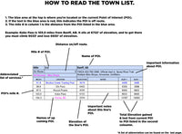 2021 Colorado Trail SOBO / WESTBOUND Town List