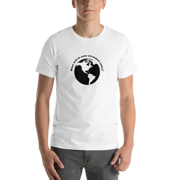 Men's What will be Your Adventure Today? T-shirt