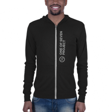 Load image into Gallery viewer, 1/7 Project Logo Zip Hoodie (Unisex)