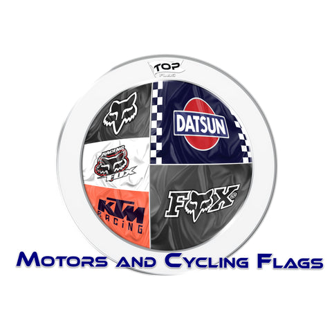 Motors and Cycling flags