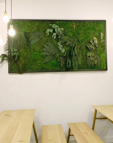 Forest Foliage Moss Wall Frame