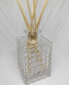 DIAMOND CUT GLASS REED DIFFUSER