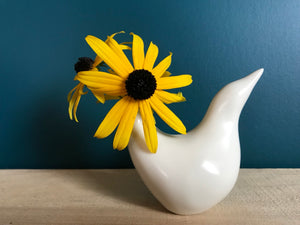 Perching Bird Vase