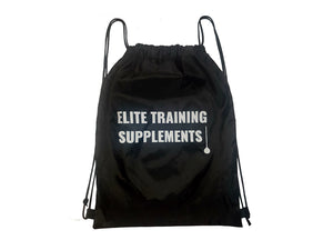 Elite Training Supplements - Drawstring Bags