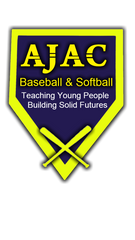 AJAC Baseball and Softball Logo - Chicopee, MA