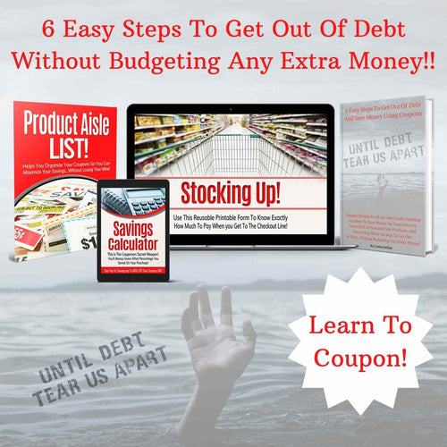 6 Easy Steps To Get Out Of Debt...Without Budgeting Any Extra Money PLUS 3 BONUS GIFTS (Illustrated E-Book)