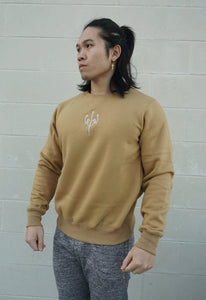 Warm Up Sweatshirt - Champagne Gold