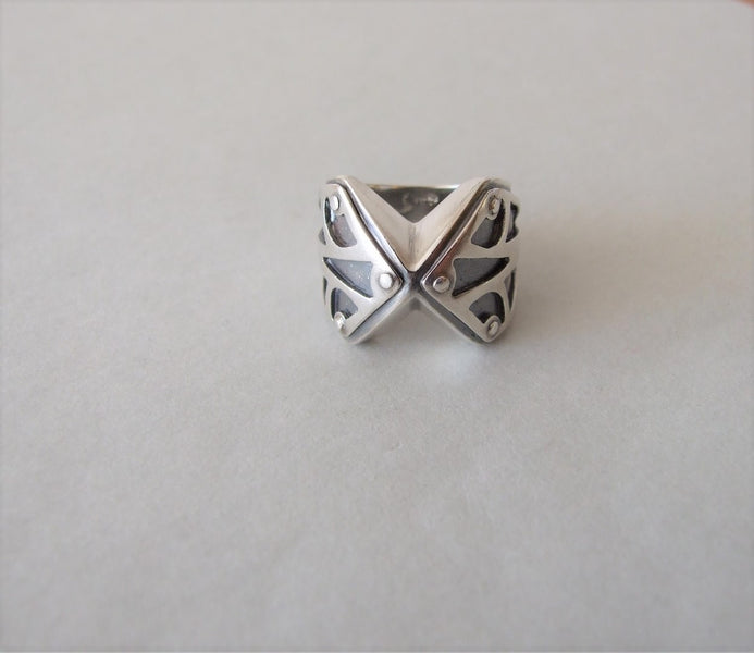 An Origami-Inspired Ring