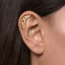 Gold Plated Silver Celtic Cartilage Earring