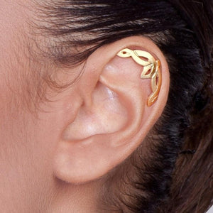 Solid 14k Gold Celtic Helix Earring