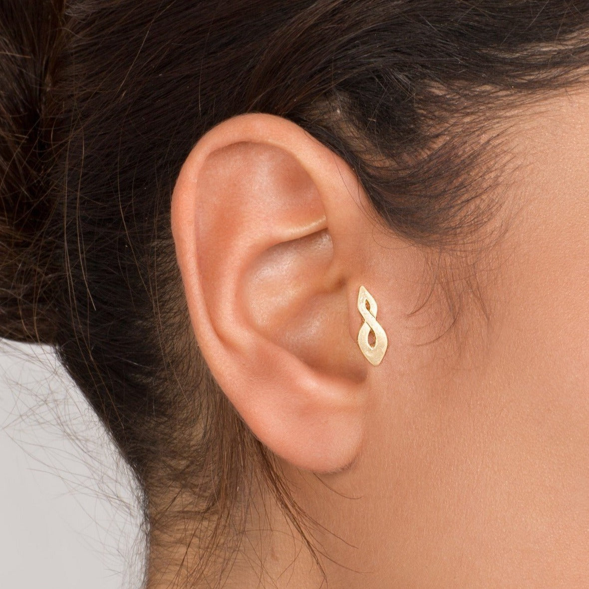 14k Gold Celtic Flame Tragus Eearring Shirli S Jewelry