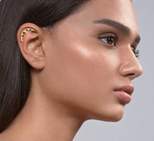 14k Gold Gothic Helix Earring