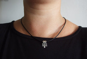 Silver Celtic Unisex Necklace