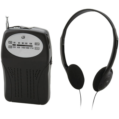 GPX(R) R116B Portable AM/FM Radio