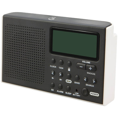 GPX(R) R616W Portable 6-Band Shortwave AM/FM Radio