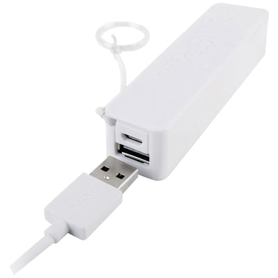 iEssentials(R) IE-PB-WT 2,600mAh Battery Bank (White)