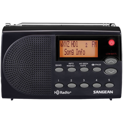 Sangean HDR-14 HD Radio(TM)/FM Stereo/AM Portable Radio