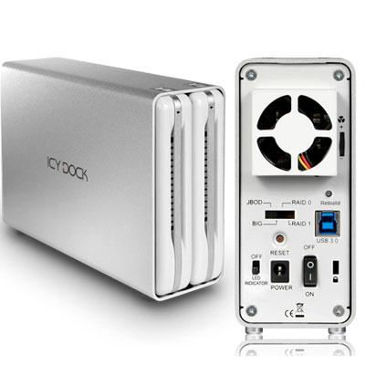 2Bay Raid 3.5 USB 3.0 HDD Encl