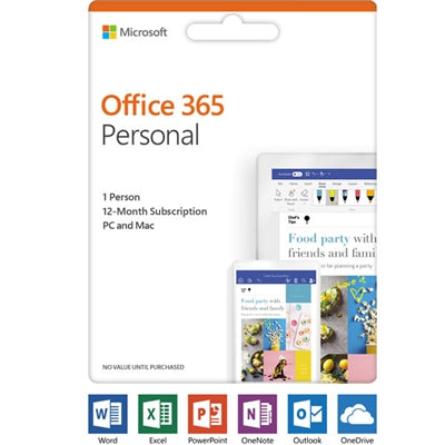 Office 365Personal Subsc P4