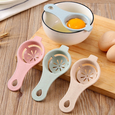 1PC 13*6cm Plastic  Egg Separator White Yolk Sifting Home Kitchen Chef Dining Cooking Gadget New