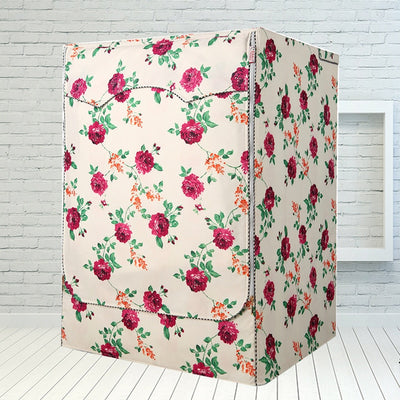 Printing Oxford Cloth Washing Machine Covers Home Storage Rganization Bag Gadgets Waterproof Easy To Clean Household Accessories