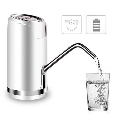 Electric Water Bottle Pump Dispenser With Suction Unit Bottled USB Water Dispenser For Drinking Water Bottles Home Gadgets