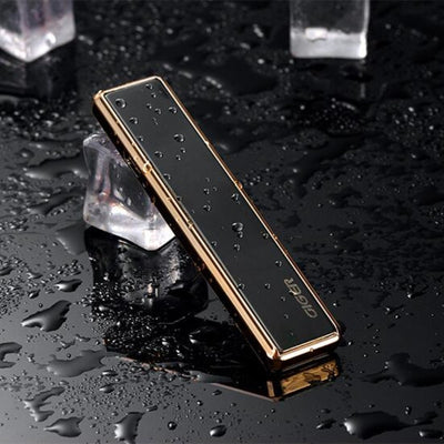 Slider USB Electronic Lighter Portable Flameless Windproof  Cigarette Lighter Rechargeable Fancy Lighter Smoking Gadgets For Men