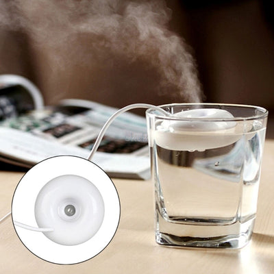 Mini Portable Donuts USB Air Humidifier Purifier Aroma Diffuser Steam For Home  Humidifier Purifier USB Gadgets JUL12 dropship