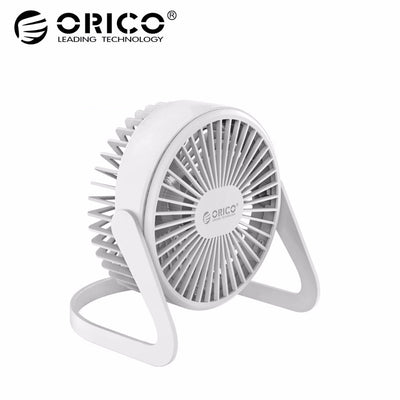 Orico USB Fan Flexible Mini Ventilateur Gadgets Cool Adjustable Angle Cooling Fan Mute Silent for Office PC Laptop Notebook Desk