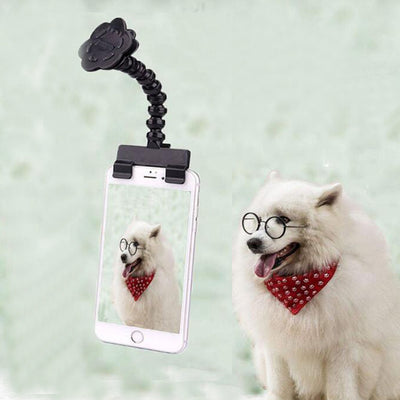 HOT Pet Selfie Stick for Pets Dog Cat fit iPhone Samsung and Most Smartphone Tablet Dog Selfie Stick Black/White Drop Shipping