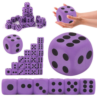 Math Toys Specialty Giant EVA Foam Playing Dice Block Party Toy Game Prize Funny Gadgets Interesting Toys For Children Gift YB06