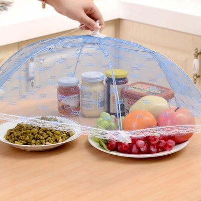 1pc UmbrellaFood Covers Anti Fly Mosquito Meal Cover Lace Table Home Using Food Cover Kitchen Gadgets Cooking Tool 100gD
