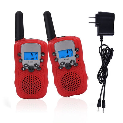 Children phone Walkie Talkie Toys electronic gadgets battery operated radios wireless walkie talkie intercom talking toy 2pcsP20