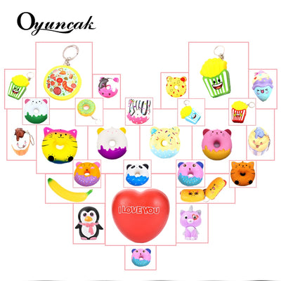 Oyuncak Squishy Antistress Sports & Entertainment Gadget Squishe Novelty Gag Toys For Children Stress Relief Anti-stress Squisy