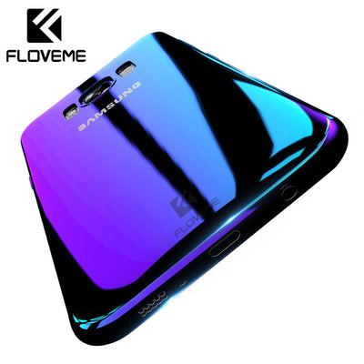FLOVEME Blue Ray Phone Case For Samsung S8 S9 Plus Hard Case Cover For Samsung Note 9 Galaxy S6 S7 Edge Cover Capa Accessories