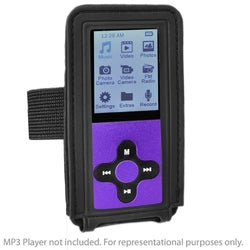 Eclipse MP3/MP4 Player Adjustable Armband (Black)