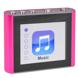 Eclipse Fit Clip Plus PK 8GB MP3 USB 2.0 Digital Music/Video Player w/1.8 LCD & Pedometer (Pink)