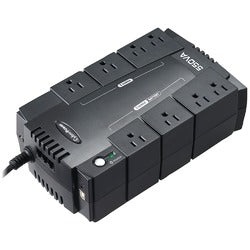 CyberPower(R) CP550SLG 8-Outlet Standby UPS System ($100,000 connected equipment guarantee)