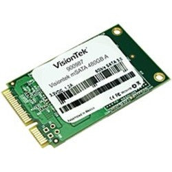 VisionTek 480 GB Internal Solid State Drive Cartridge - SATA - mSATA - 550 MB/s Maximum Read Transfer Rate - 445 MB/s Maximum Write Transfer Rate