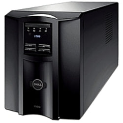 Dell DLT1500 Smart UPS - 1000 Watts - AC 120V - USB - Black