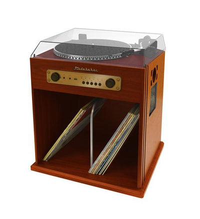 Stereo Turntable with Bluetooth Receiver